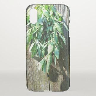 Rustic  Sage iPhone X Case