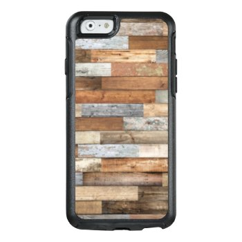 Rustic Salvaged Barnyard Woodgrain Phone Otterbox Iphone 6/6s Case by Lovewhatwedo at Zazzle