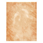Rustic Sandstone Grunge Oak Leaves Letterhead Design
