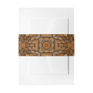 Rustic Scales Invitation Belly Band