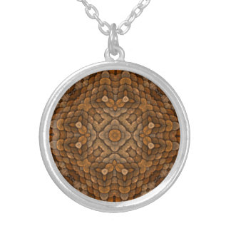 Rustic Scales Vintage Kaleidoscope  Necklaces