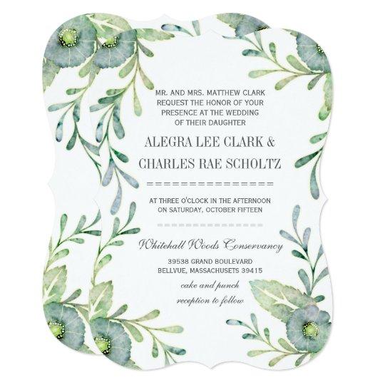 8c39ec01779 Rustic Serenity Blue Watercolor Wedding Invitation