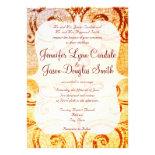 Rustic Shabby Country Flourish Wedding Invitations