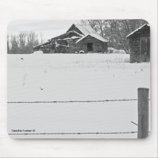 Rustic Shacks Mouse Pad