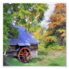Rustic Shed Landscape Photo Print
