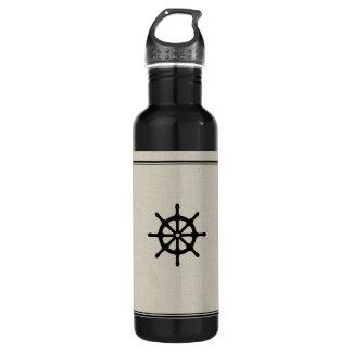 Rustic Ship Wheel Water Bottle