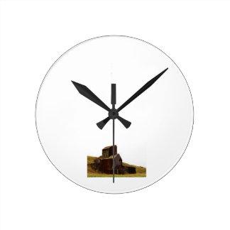 Rustic Silo Clock