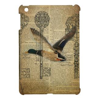 rustic skeleton keys western country mallard duck cover for the iPad mini