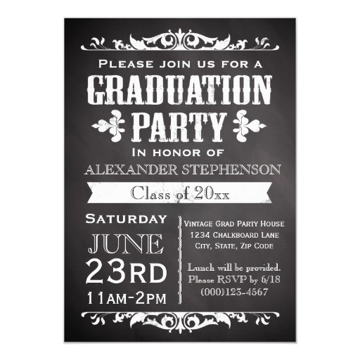 College Graduation Party Invitations Templates for nice invitation sample