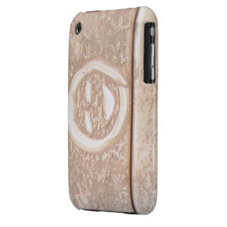 Rustic smile smiley face mud muddy dirt dirty face Case-Mate iPhone 3 case