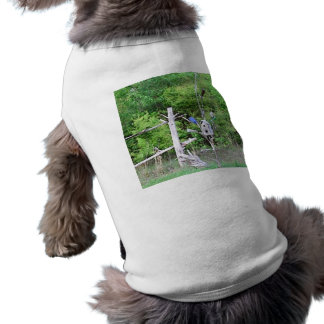 Rustic Southern Bottle Tree Knotted Pine Birdhouse Shirt