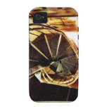Rustic Spiral Staircase iPhone 4/4S Case