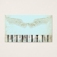 Rustic, Spiritual, Angel Wings, Business Cards, Business Card at Zazzle