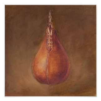 Rustic Sports | Boxing Poster