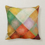 Rustic Square Pattern Accent Pillow