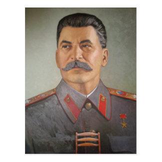 Rustic Stalin Postcard