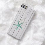 Rustic Starfish Weathered Wood Barely There iPhone 6 Case