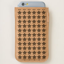 Rustic Stars Pattern iPhone 6/6S Case