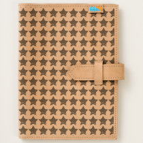 Rustic Stars Pattern Journal