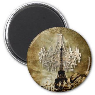 rustic steampunk vintage chandelier wedding magnet