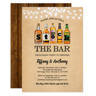 Save 60 On Vintage Housewarming Engagement Party Invitations