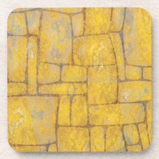 Rustic Stone Beverage Coaster