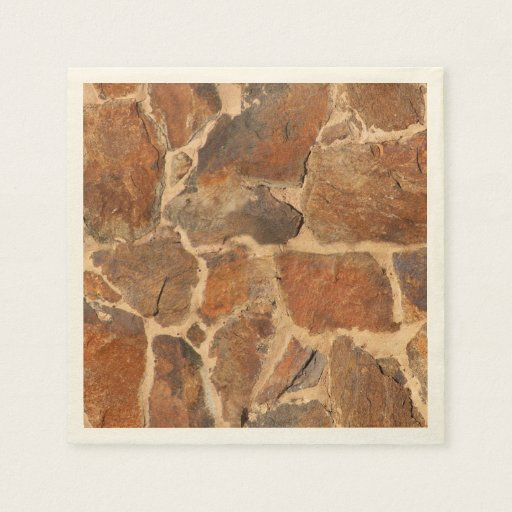 Rustic Stone Wall Structure Geology Warm Glow