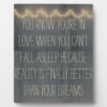 Rustic Summer Fairy Lights Inspirational Love Plaques