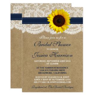 Sunflowers Bridal Shower Invitations Announcements Zazzle
