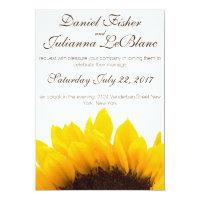 Rustic Sunflower Wedding Invitation (<em>$2.01</em>)