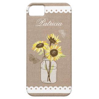 Rustic Sunflowers Case
