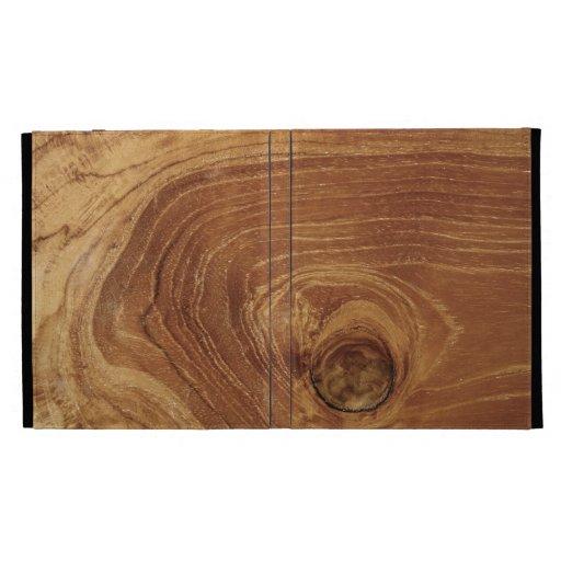 rustic teak wood grain texture photo ipad case zazzle