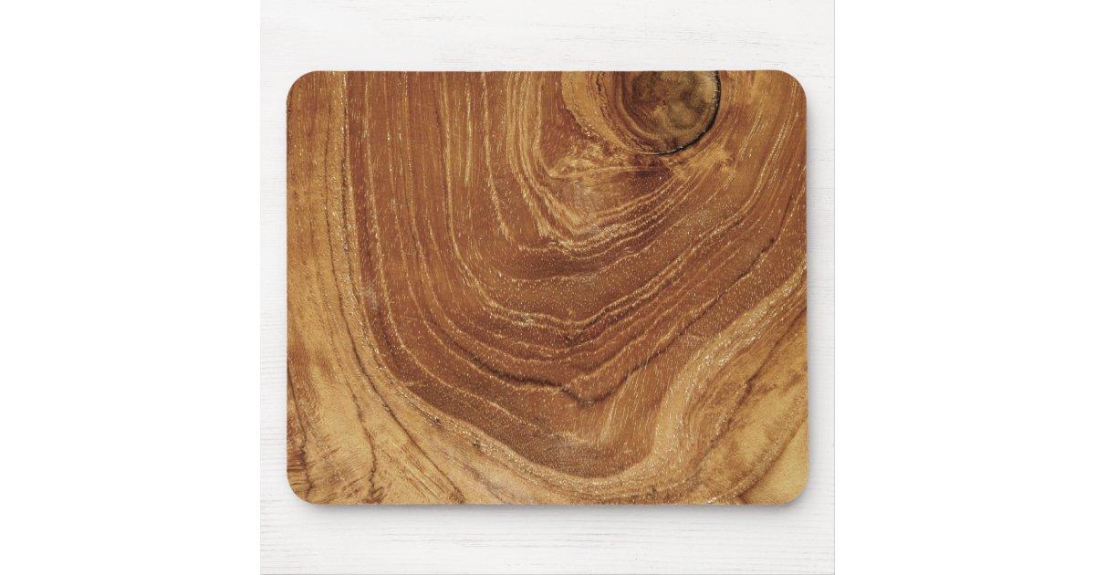 Rustic Teak Wood Wooden Texture Custom Mousepad   Zazzle.com