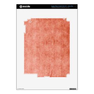 Rustic Terra Cotta Decal For iPad 3