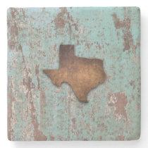 Rustic Texas Stone Coaster