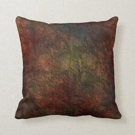 Rustic Texture Throw Pillow Zazzle
