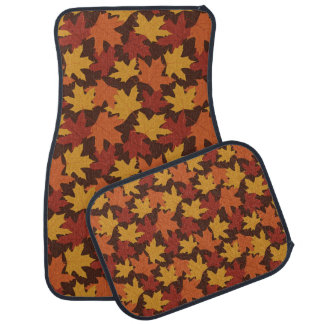 Rustic Thanksgiving Holiday Fall Autumn Colorful Car Floor Mat