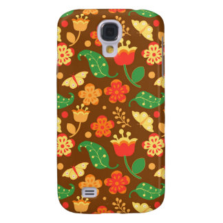 Rustic Thanksgiving Holiday Fall Autumn Colorful Samsung S4 Case