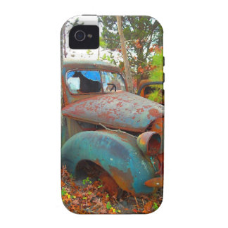 Rustic Thirties Junk Yard Pick Up Truck Case-Mate iPhone 4 Cases