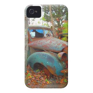 Rustic Thirties Junk Yard Pick Up Truck iPhone 4 Case