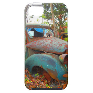 Rustic Thirties Junk Yard Pick Up Truck iPhone 5/5S Covers