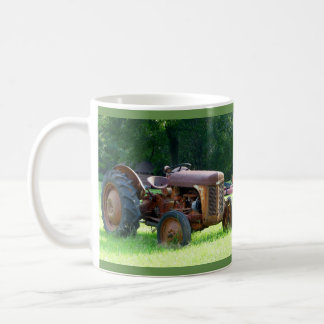 Rustic Tractor Coffee Cup