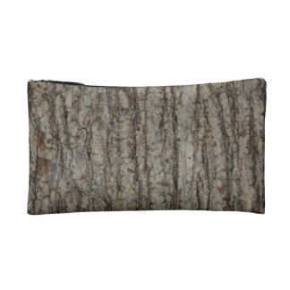 Rustic Tree Bark Camo Cosmetic or Accessory Bag
