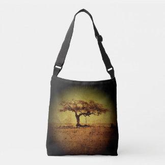 Rustic Tree Crossbody Bag