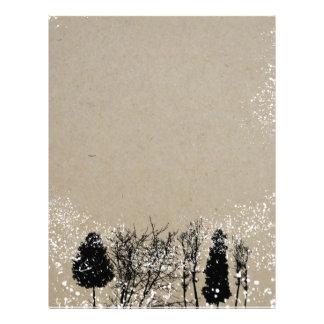 Rustic Tree Letterhead