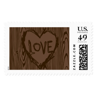 Rustic Tree Love Brown | Atelier Isabey Stamps