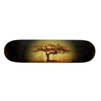 Rustic Tree Skateboard Deck
