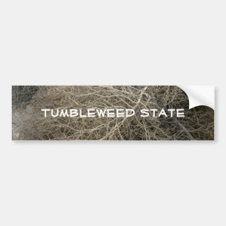 Rustic Tumbleweed Bumper Sticker