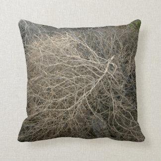 Rustic Tumbleweed Throw Pillow