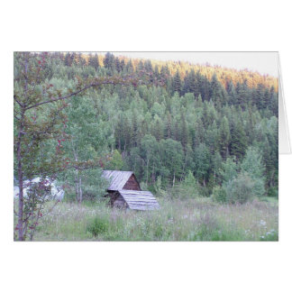 Rustic View Card